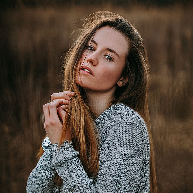 szabadtéri portré fotózás